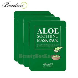 BENTON Aloe Soothing Mask Pack 23g*10ea