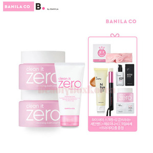 BANILA CO Zero Foam Cleanser Set [Monthly Limited -July 2018]