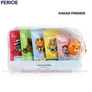 MINIS X KAKAO FRIENDS Travel Kit 7items,Beauty Box Korea