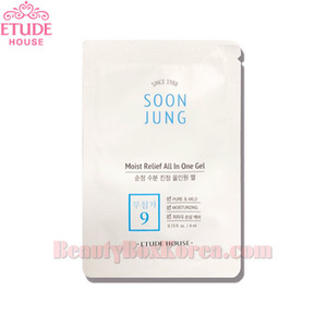 [mini] ETUDE HOUSE Soon Jung Moist Relief All In One Gel 4ml*10ea