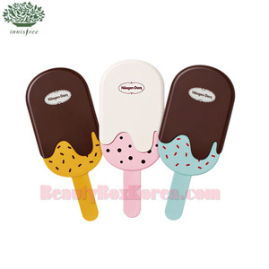 INNISFREE Super Haggen-Dazs Hand Mirror 1ea [INNISFREEx Haagen-Dazs],Beauty Box Korea
