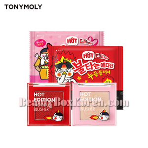 TONYMOLY Noodle Blusher 4g[Hot Edition](PRE-ORDER)