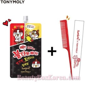 TONYMOLY Red Coloring Treatment 25ml + Tail Comb 1ea [Hot Edition]