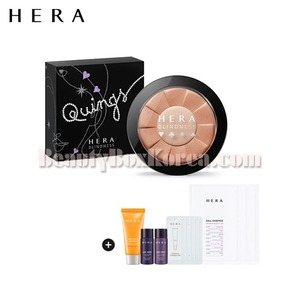 HERA Holiday Glow Contour Duo Special Set [HERA X BLINDESS] 12items