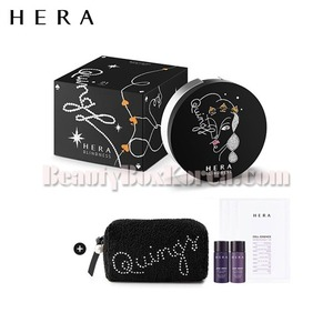 HERA Holiday Black Cushion Special Set [HERA X BLINDESS] 8items