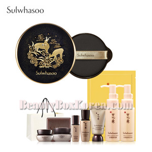 SULWHASOO Perfecting Cushion Intense SPF50+PA+++ Set 11items [Master collection]