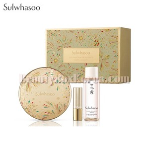 SULWHASOO Perfecting Cushion EX SPF50+ PA+++ 15g*2ea Gift Set 4items [Celebration of Festive5 Holiday Collection]