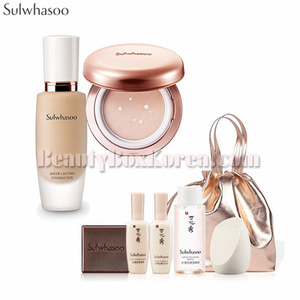 SULWHASOO Sheer Lasting Gel Cushion&Foundation Set 8items