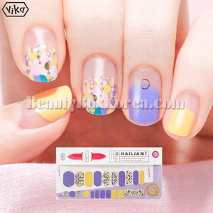 VIKA Nailjam Gel Nail Strip 1ea