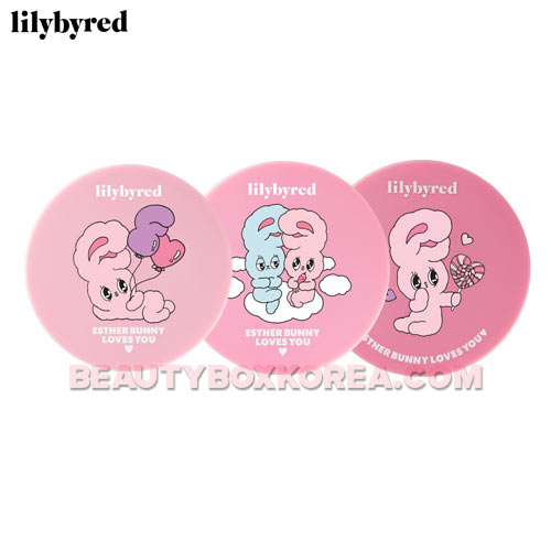 LILYBYRED X ESTHER BUNNY Cotton Blur Cushion SPF50+ PA+++ 14g