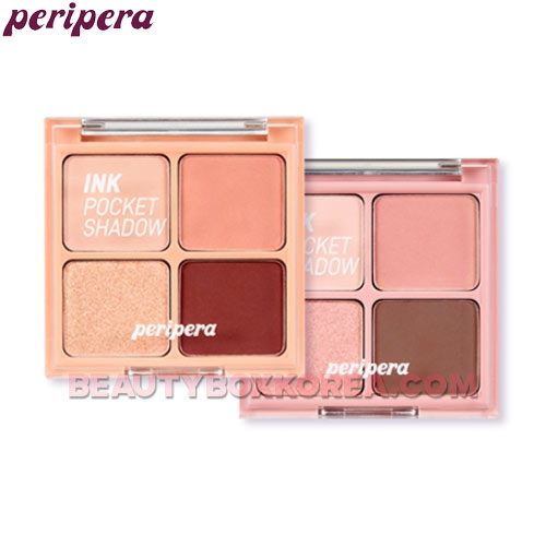 PERIPERA Ink Pocket Shadow Palette 2g*4colors