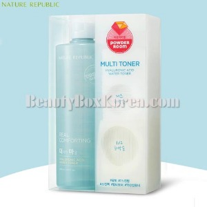 NATURE REPUBLIC Real Comforting Hyaluronic Acid Water Toner Special Set 3items