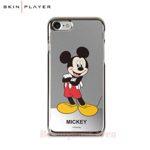 SKIN PLAYER 6Items Disney Pantone Mirror Art Phone Case,Beauty Box Korea
