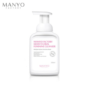 MANYO FACTORY Moist Floral Feminine Cleanser 200ml, MANYO FACTORY