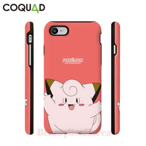 COQUAD 5Kinds Pokemon Cutie Armour Card Phone Case,Beauty Box Korea