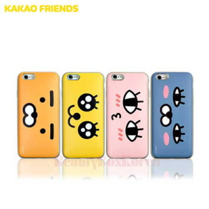 KAKAO FRIENDS 4Items Card Slide C Phone Case,Beauty Box Korea