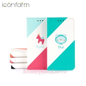 ICONFARM 5Items Gelato Book Diary Phone Case,ICONFARM ,Beauty Box Korea