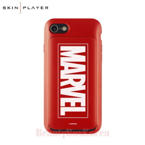 SKIN PLAYER 5Kinds Marvel Glow i-Slide Phone Case,Beauty Box Korea