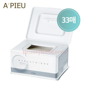 A'PIEU Hyaluthione Soonsoo Daily Sheet Mask 350g/33ea