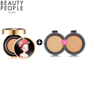 BEAUTY PEOPLE Absolute Lofty Girl Cushion Foundation 18g + Refill 18g, Beauty People