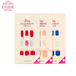 ETUDE HOUSE Play Nail Design Tip 18tips
