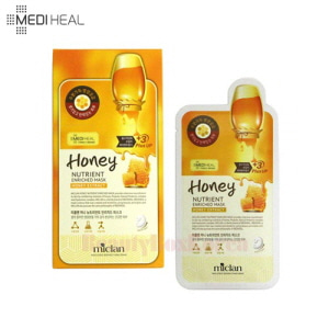 MEDIHEAL Miclan Honey Nutrient Enriched Mask 25ml*10ea