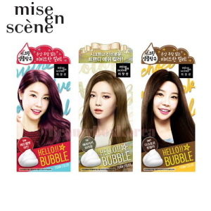 MISE EN SCENE Hello Bubble Foam Color 30ml+60g