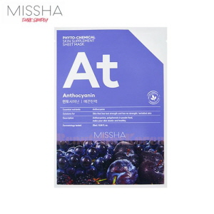 MISSHA Phyto Chemical Skin Supplement Sheet Mask 25ml