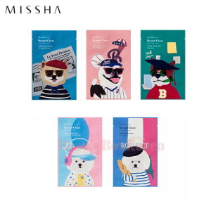 MISSHA Real Solution Tencel Sheet Mask 25g*10ea  [Beyond Closet Edition]