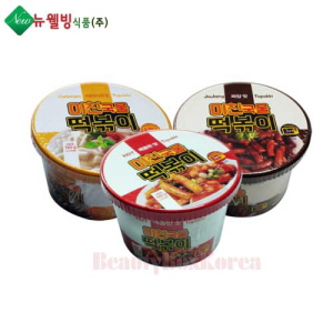 NEW WELL BEING FOOD Crazy Soup Toppoki 160g