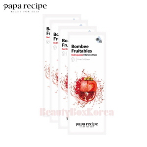 PAPA RECIPE Bombee Fruitables Squeeze Mask 25g*10ea