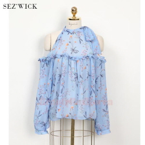 SEZ'WICK RTO0430 Off Round Flower Top 1ea