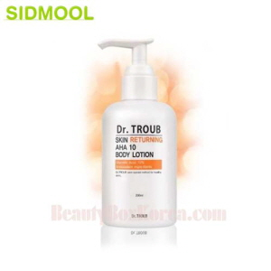 SIDMOOL Skin Returning AHA 10 Body Lotion 200ml