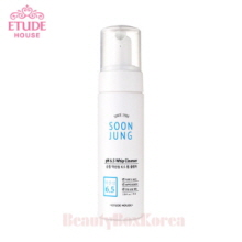 ETUDE HOUSE Soon Jung PH 6.5 Whip Cleanser 70ml,Beauty Box Korea