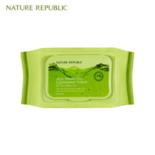 NATURE REPUBLIC Jeju Sparkling Cleansing Tissue 50p, NATURE REPUBLIC