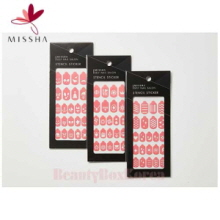 MISSHA Self Nail Salon Stencil Sticker 1p, MISSHA