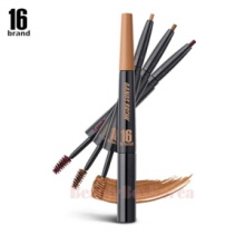 16 BRAND 16 Gangs Brow Brow Maker Duo 0.15g+4g