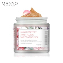 MANYO FACTORY Moist Floral Wax Coating Pack 100ml, MANYO FACTORY