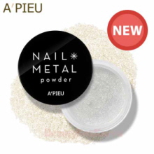 A'PIEU Nail Metal Powder 2g,Beauty Box Korea