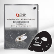 SNP Black Pearl Black Ampoule Mask 1pcs, SNP