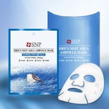 SNP Bird's Nest Aqua Ampoule Mask 25g [ 10 sheet ], SNP