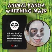 SNP Animal PANDA whitening Mask 25ml x 10 sheets, SNP