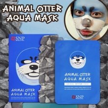 SNP Animal Otter Aqua Mask 25ml*10sheet, SNP