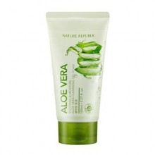 NATURE REPUBLIC Soothing Moisture Aloe Cleansing Gel Foam 150ml, NATURE REPUBLIC