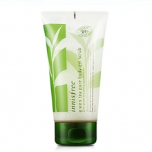 INNISFREE Green Tea Pure Body Gel Scrub 150ml, INNISFREE
