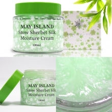 MAY ISLAND Snow Sherbet Silk Moisture Cream 100ml, MAYISLAND