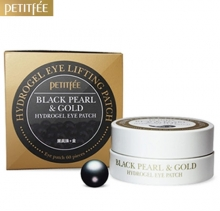 PETITFEE Black Pearl & Gold Hydro Gel Eye Patch 60ea, PETITFEE