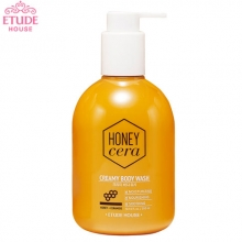 ETUDE HOUSE Honey Cera Creamy Body Wash 300ml, ETUDE HOUSE
