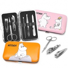 MOOMIN Nail Care Set (6items & 1case), MOOMIN