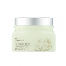 THE FACE SHOP Perfume Seed White Peony Body Scrub 180ml, THE FACE SHOP